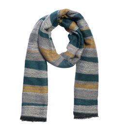 Designer Inspired- Multi Colour Lurex scarf (Size 185x70 Cm)