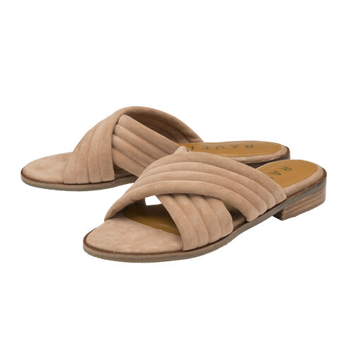 Ravel Sarina Suede Mule Sandals (Size 5) - Blush