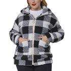 Super Soft  Faux Fur Coat with Pockets (Size S; 8-10)