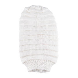 FIORUCCI White Knitted Hat (Size 27x20cm)