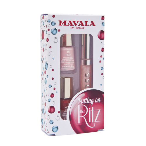 Mavala: Putting on the Ritz Set (Waltz) - Lipgloss & Nail Polish (x 2)