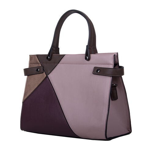 Bulaggi Collection Peony Handbag - Dark Brown and Multi Colour
