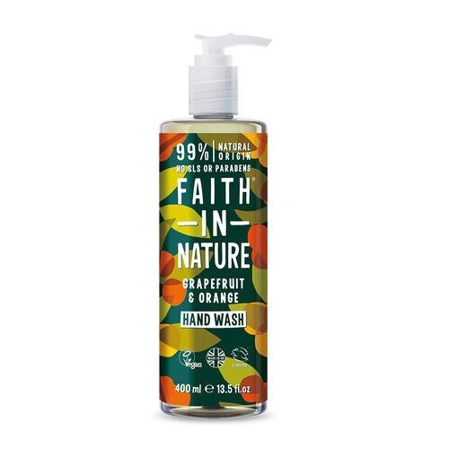 Faith In Nature: Grapefruit & Orange Hand Wash - 400ml