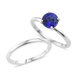 Rhapsody Solitaire Tanzanite Ring
