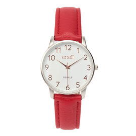 Personalised Engravable ANAII Seville Red Watch