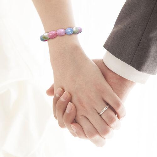 Beryl Stone Stretchable Bracelet (Size 7) 203.00 Ct.
