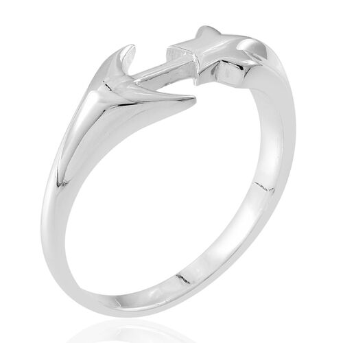 Thai Sterling Silver Arrow Ring, Silver wt. 4.10 Gms.