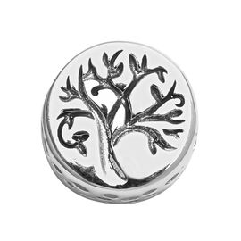 Charmes De Memoire Tree Charm in Platinum Plated Sterling Silver