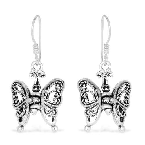 Thai Sterling Silver Earrings, Silver wt 3.42 Gms.