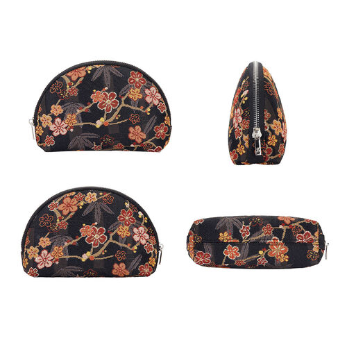 Signare Tapestry Almond Blossom and Swallow Collection - Top Handle Handbag with Adjustable Shoulder Strap