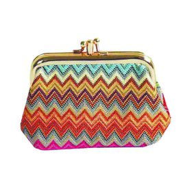 SIGNARE - Tapastry Aztec Coin Frame Purse  (13 x 8 x 5 cms )