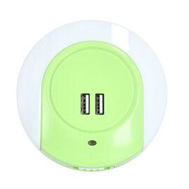 Auto Sensor LED Night Light - Green