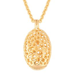 RACHEL GALLEY 30 Inch Lattice Necklace in Gold Plated Sterling Silver 10 Grams
