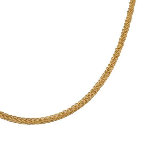 Italian Made 9K Yellow Gold Spiga Chain (Size 30)