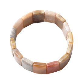 Fossil Coral Stretchable Bracelet (Size 7.5) 241.00 Ct.