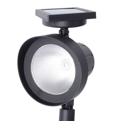 Set of 2 -  Solar Powered Waterproof Garden Light Powerful LED - WIDE COVERAGE (Size 42.5x13.4Cm)
