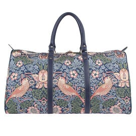 SIGNARE - Tapestry Collection - Strawberry Thief Weekend Bag (57 x 30 x 29 Cms)