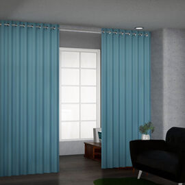Super Find - TJC Blackout Curtain with 8 Eyelets - Teal Blue