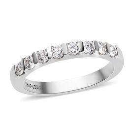 RHAPSODY 950 Platinum Diamond (Rnd) Band Ring 0.50 Ct.