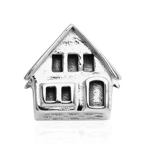 Charmes De Memoire Home Charm in Platinum Plated Sterling Silver