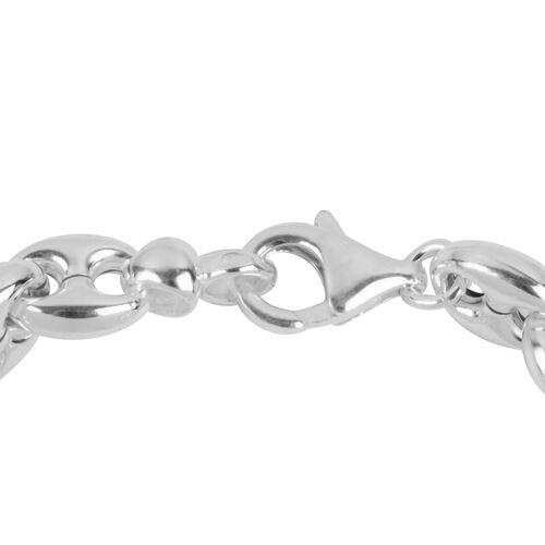 Sterling Silver Mariner Bracelet (Size 6.5), Silver wt 10.34 Gms