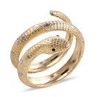 Surabaya Collection Snake Serpentine Snake Ring (Size L) in 9K Gold 3.5 Grams