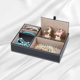 New Arrival- Accessories/Jewellery Organizer (Size 25.6x18.6x5cm) - Black