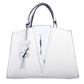 Bulaggi Collection - Caitlyn - Croco Print Shopper Bag with Adjustable and Removable Strap (32x23x11