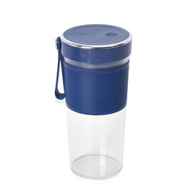 Super Auctions - Rechargeable and Portable 350 ml Juicer Blender with Three Blades - Navy
