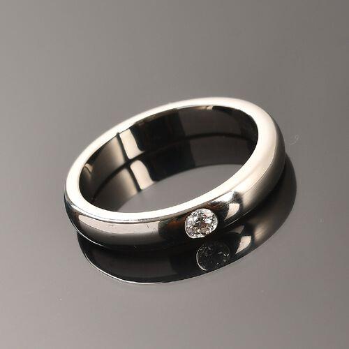 RHAPSODY 950 Platinum IGI Certified Diamond (Rnd) (VS/E-F) Band Ring