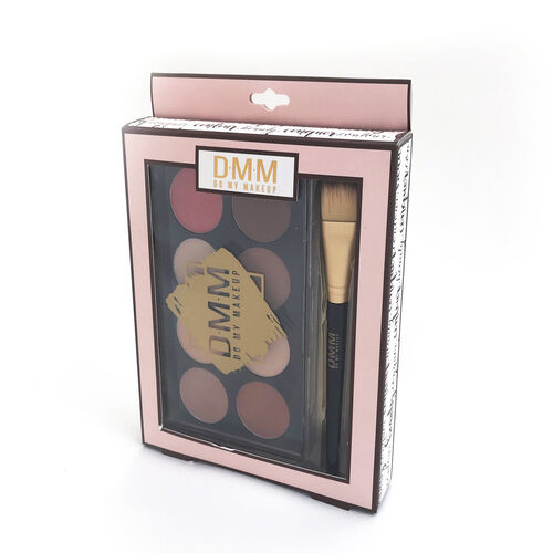 DMM Cosmetics Contour kit 8 Colours Makeup Palette with Brush