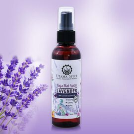 Utama Spice: Lavender Spray - (For Yoga Matts, Mattress/ Pillow) - 100ml
