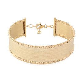 Made In Italy- 9K Yellow Gold Bangle (Size 7 with 1 inch Extender), Gold wt 14.40 Gms