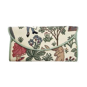 Signare Tapestry - Alice in Wonderland Envelope Purse (Size 19.5x10x3 Cm) (Navigation Fashion Accessories Handbags) photo