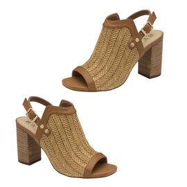 Ravel Clifton Heeled Sandals (Size 3) - Tan