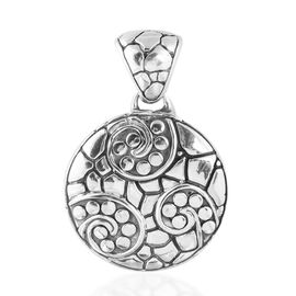 Bali Legacy Collection Sterling Silver Pebble Pendant, Silver wt 6.80 Gms.