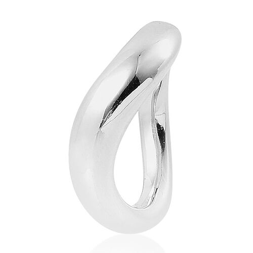 LucyQ Ring in Rhodium Plated Sterling Silver 7.35 Gms.