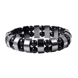 Monster Deal - Shungite and Hematite Stretchable Bracelet 180.00 Ct.