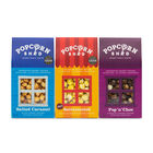 POPCORN SHED: 3-shed Gourmet Popcorn Chocolate Caramel Selection Pack (Salted Caramel/Pop N Choc/But