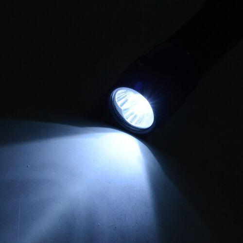 Purple and Black Colour Auto Open and Close Tri-Fold Umbrella with  LED Light on handle (Size 80.5 Cm)