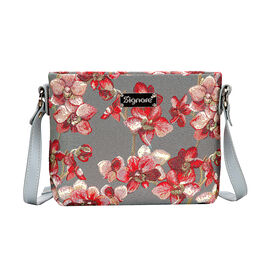 SIGNARE - Tapestry Orchid Cross Body Bag ( 28 x 18 x 8 Cms)