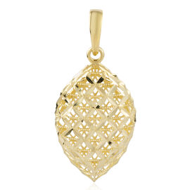 Limited Edition- Ottoman Treasure 9K Yellow Gold Leaf Pendant