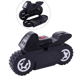 Portable Flashlight Tool Box (Button Battery Including with 1pc Handle, 1pc Prolong Bar, 4pcs Precis