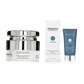 Doctors Formula Duo: Instant Eye Hydration Repair Treatment 15ml & Probiotics - Lifting & Firming Se