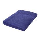 100%Egyptian Cotton Terry Towel Sheet (Size:165x90Cm) - Navy