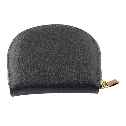 Kris Ana Crystal Cardholder (Size 9x12x3cm) - Grey