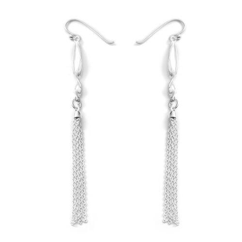 Sterling Silver Dangle Hook Earrings, Silver wt 5.29 Gms.