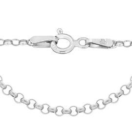 Sterling Silver Belcher Chain (Size 20), Silver wt 6.20 Gms