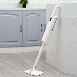 HOMESMART 6  in 1 Multipurpose Steam Mop (Size 25.1x14.6x113cm) - White