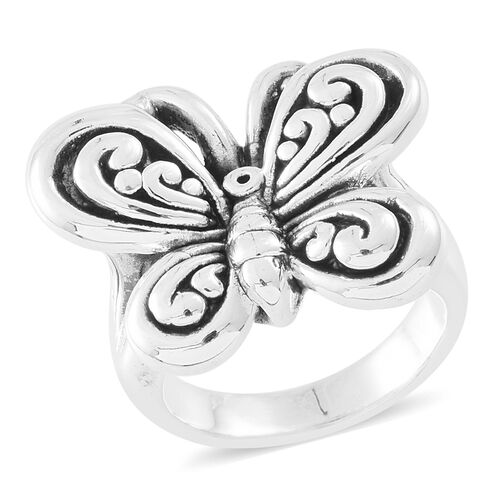 Sterling Silver Butterfly Ring, Silver wt. 5.15 Gms.